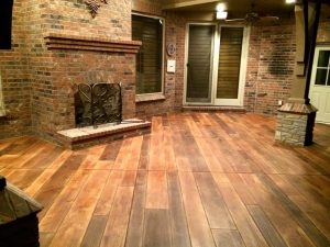 Wood Concrete Flooring Boise, Idaho
